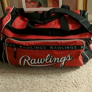 Vintage Rawlings large duffle gym bag